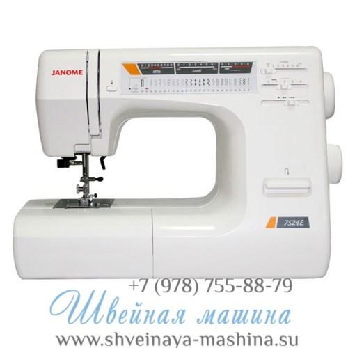Швейная машина Janome DE 7524 E 1