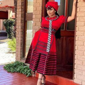Gorgeous Xhosa Wedding Fashion 2021 (9)