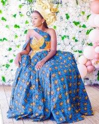 Traditional Shweshwe Dresses 2021 For Wedding (12)
