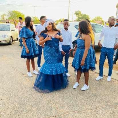 Traditional Shweshwe Dresses 2021 For Wedding (13)