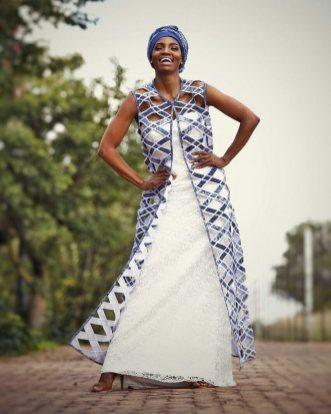 Traditional Shweshwe Dresses 2021 For Wedding (5)