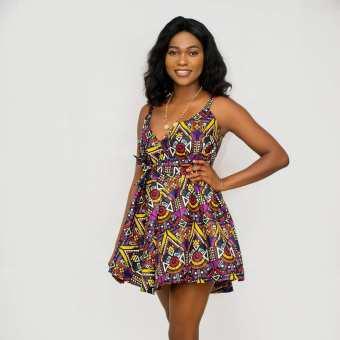 ANKARA SHORT DRESSES STYLE 2021 (10)