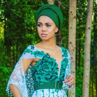 Dazzling Shweshwe Celebrity Native Attire 2021 (8)