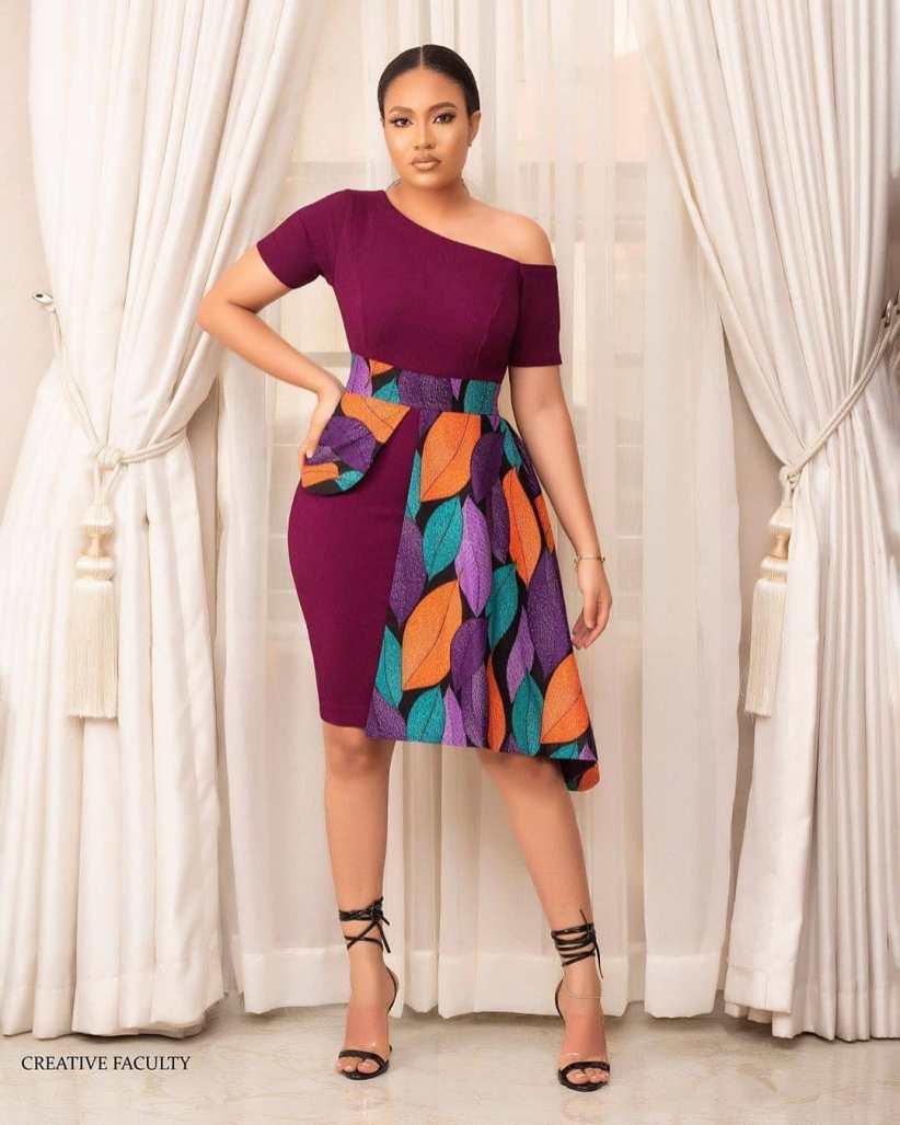Latest Ankara Styles for Celebrities 2021 (6)
