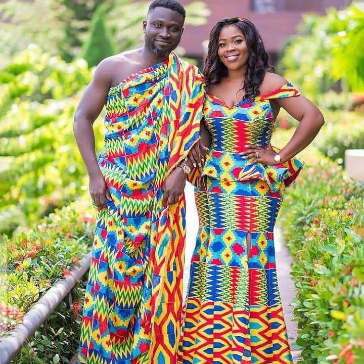 Traditional Kente Designs For Women 2021 (7)