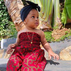 ANKARA FEMALE BABY DRESSES (2)