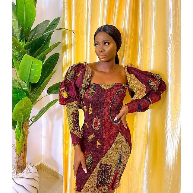 Stunning Ankara Styles For your Family Fashion Trend 2021 (15)