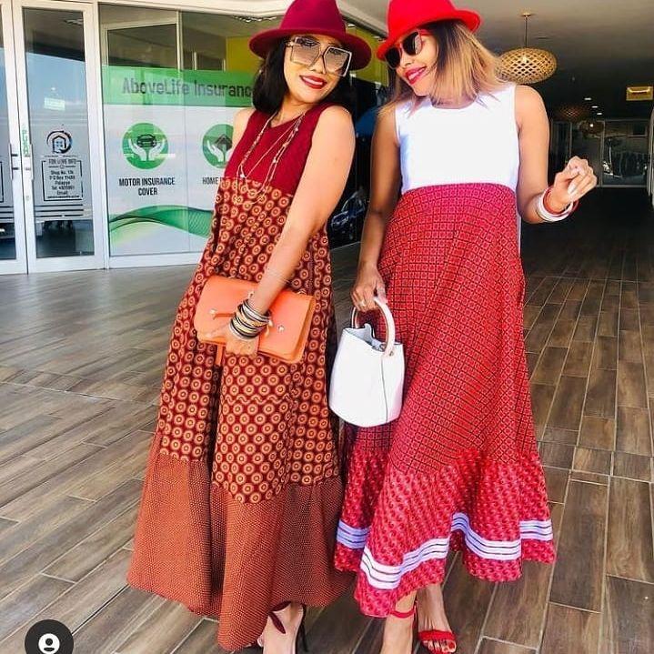 beautiful shweshwe dresses 2021 (15)