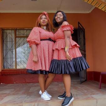 shweshwe dress designs 2021 (12)