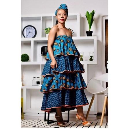 beautiful shweshwe dresses 2021 (13)