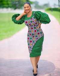 Stylish African Ankara Fashion Dresses 2021 (9)