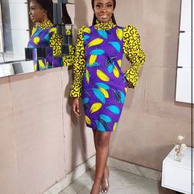Amazing Ankara Dresses Gown Styles 2021 For Ladies (11)