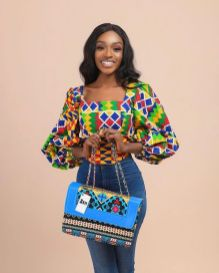 Amazing Ankara Dresses Gown Styles 2021 For Ladies (14)