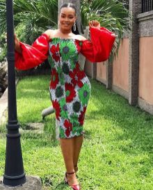 Amazing Ankara Dresses Gown Styles 2021 For Ladies (15)