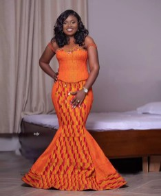 Awesome Traditional Kente Styles for Weddings 2021 (10)