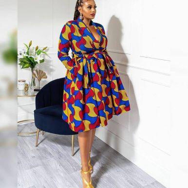 Best Ankara Gowns 2021 For Ladies (8)