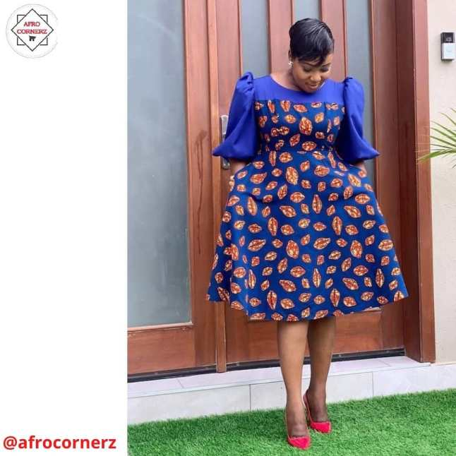 Latest Ankara Gowns 2021 For Ladies (8)