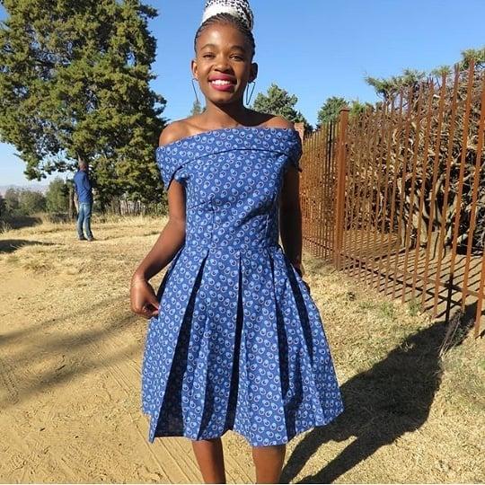 SHWESHWE SOUTH AFRICAN TRADITIONAL DRESSES 2021 (8)