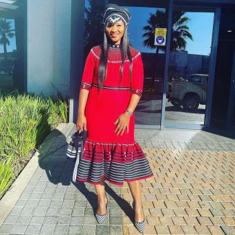 Stunning Xhosa Traditional Attires For African Ladies (1)