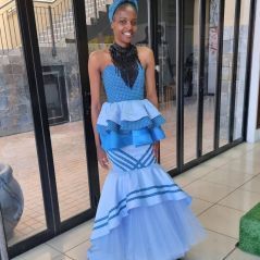 UNIQUE SHWESHWE TRADITIONAL DRESSES AFRICAN 2021 (1)