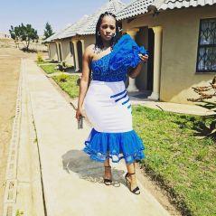 UNIQUE SHWESHWE TRADITIONAL DRESSES AFRICAN 2021 (4)
