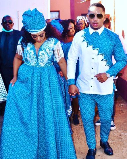 Unique Shweshwe Dresses 2021 For Wedding (6)