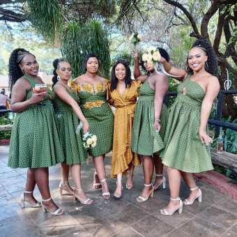 Unique Shweshwe Dresses 2021 For Wedding (9)