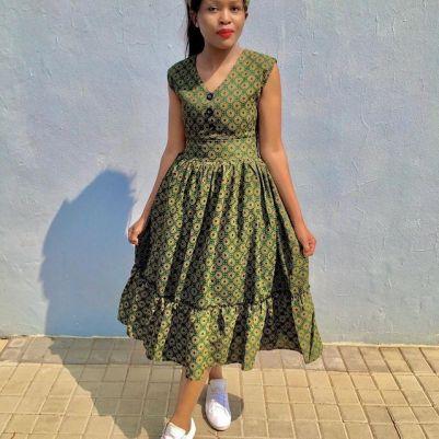beautiful shweshwe dresses designs 2021 (11)