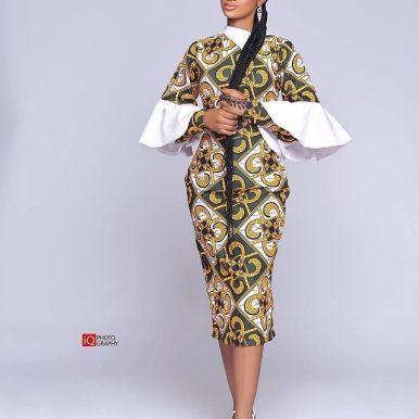 Lovely African Ankara Fashion Dresses 2022 (1)