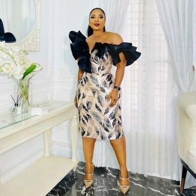 Lovely African Ankara Fashion Dresses 2022 (9)