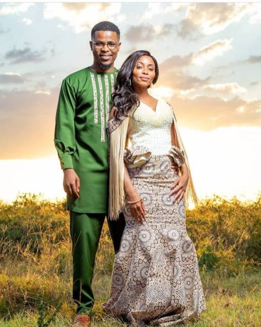 Shweshwe Traditional Dresses 2021 For Black Woman (8)