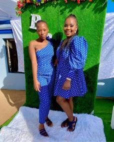 Trendy African Traditional Shweshwe Dress 2021 (15)
