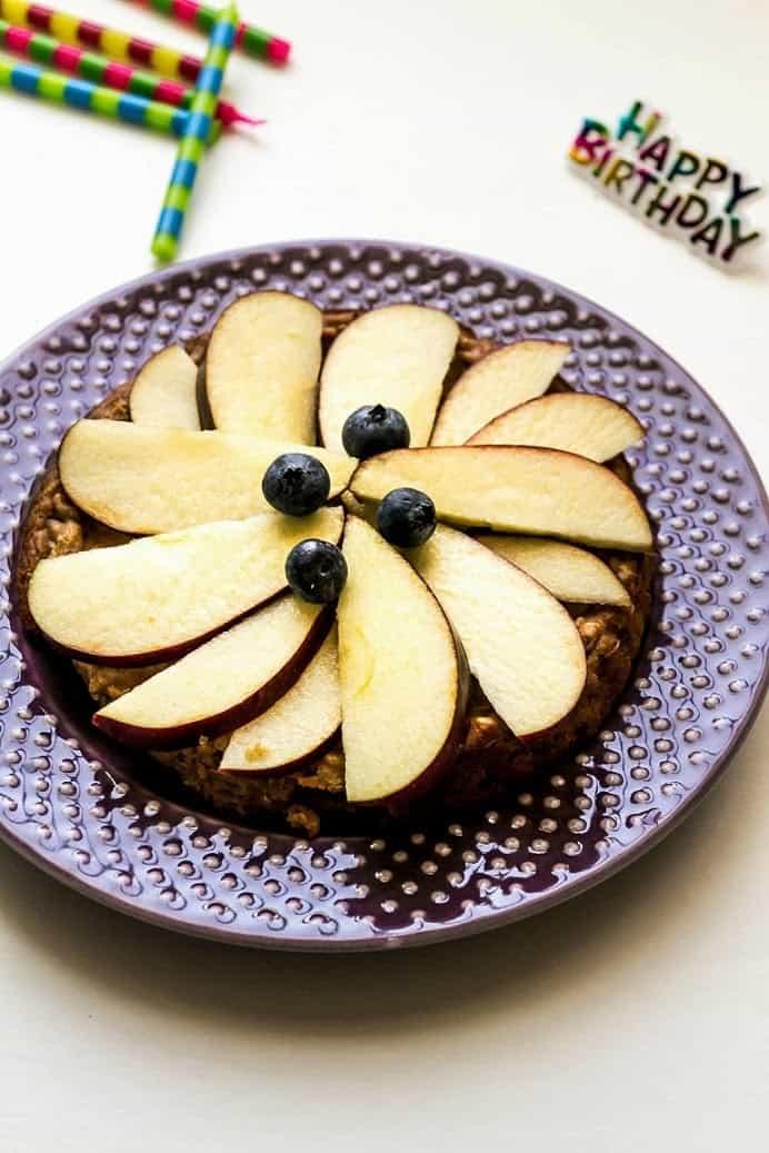 Apple Peanut Butter Dog Cake Dog Birthday Cake Shweta In The Kitchen