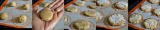 Eggless Coconut Cashew Cookies - Step 3