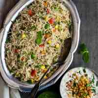 Veg Pulao - Vegetable Pulav
