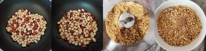 Step1-Crushed Peanut Chikki