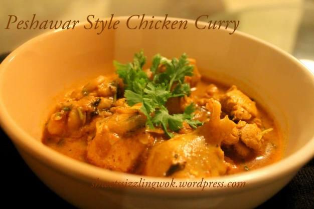 peshawar style chicken curry