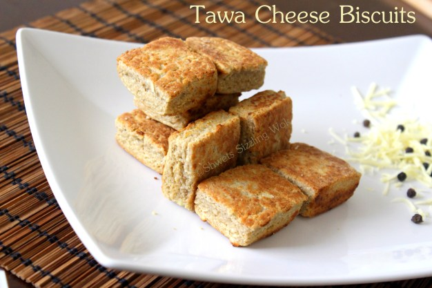 Tawa Cheese Biscuits