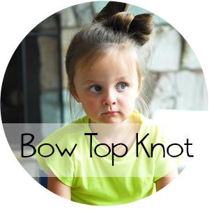 Top Knot Bow || Shwin&Shwin