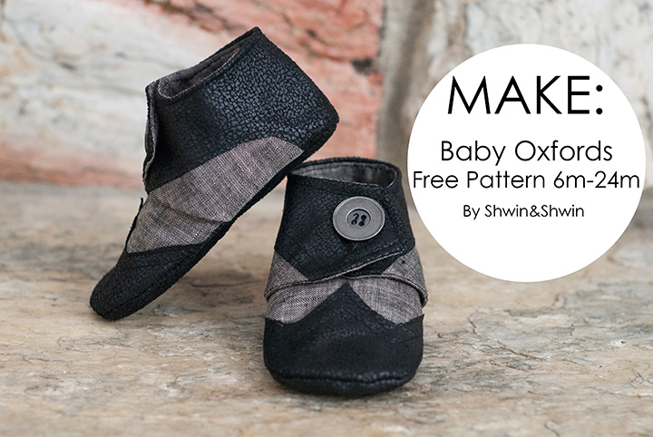 Baby Oxfords || Free Pattern