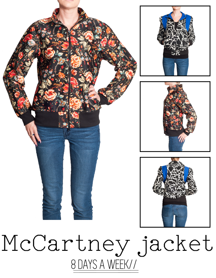 8 Days a Week Collection || McCartney Jacket || Women's Patterns