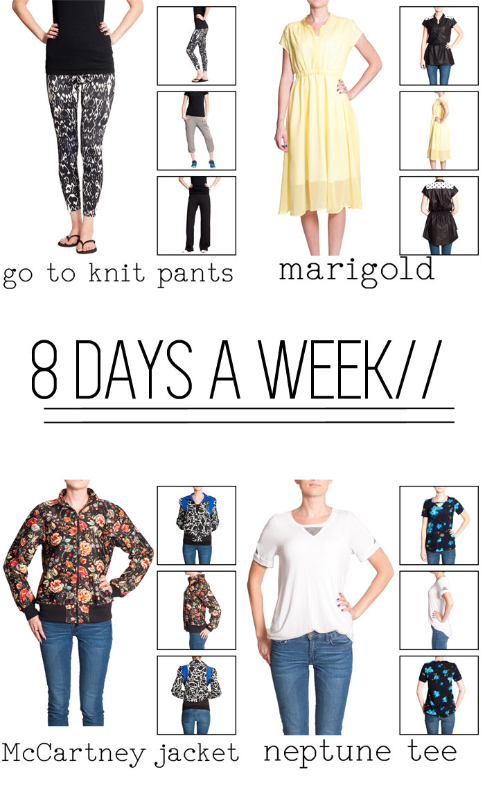 8 Days a Week Collection || Pattern Anthology || Women's Patterns
