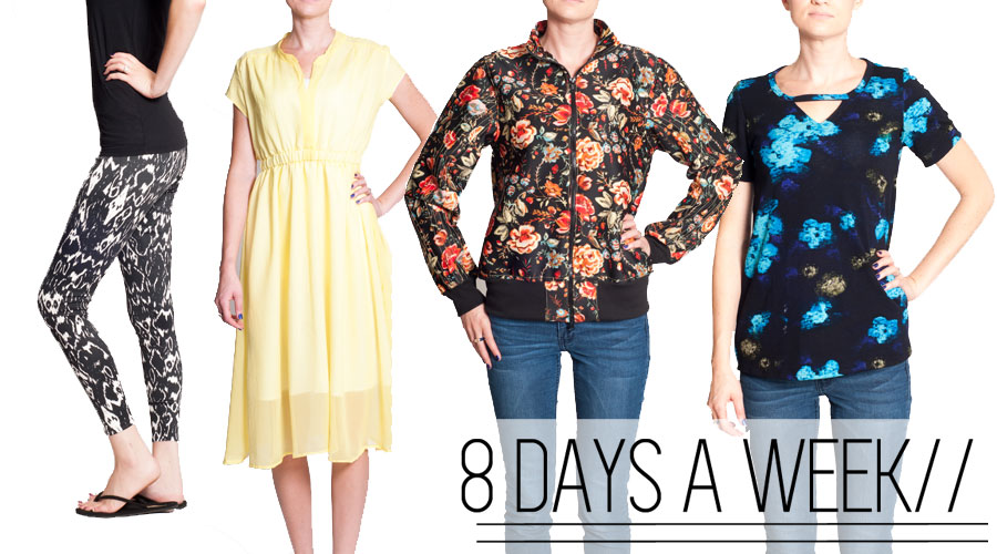 8 Days a Week Collection    Pattern Anthology