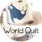 World Map Quilt || Free Pattern || Shwin&Shwin
