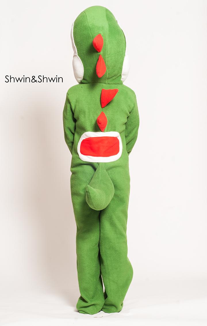 DIY Yoshi Costume    Shwin&Shwin