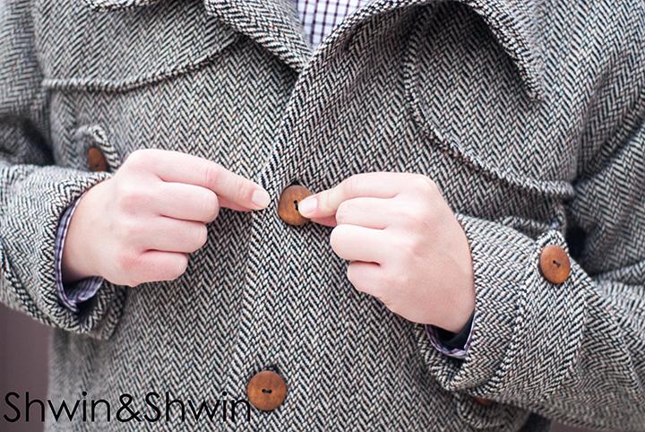 Sewing a Men's Jacket || Shwin&Shwin