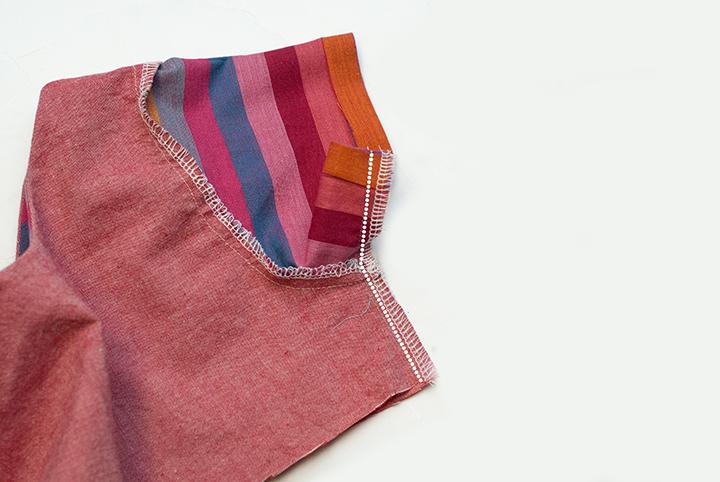 Rainbow Pieced Peplum    Free PDF Pattern    Shwin&Shwin
