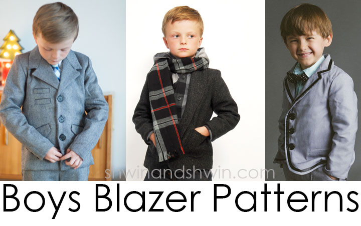 Boys Blazer Sew-a-long Fabric and Pattern choices