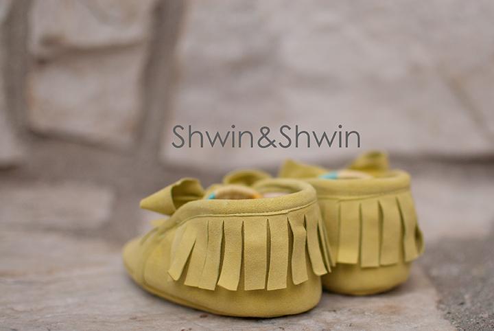Baby Moccasins Free Pattern  || Shwin&Shwin