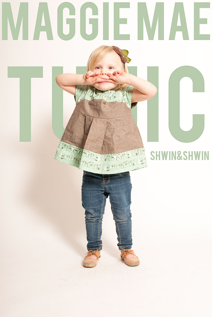 Maggie Mae Tunic || Pattern by Shwin Designs